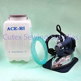 Ace-Hi AH-100G Self Contained Gravity Feed Electric Steam Iron Set