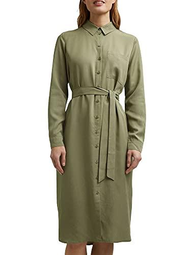 ESPRIT Hemdblusenkleid aus Lyocell Tencel™