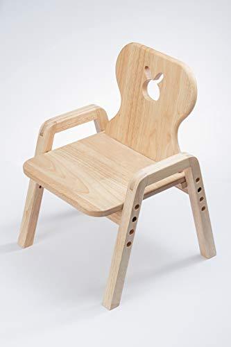 Bunnytickles Mitwachsende Kindersitzgruppe, Stuhl Einzeln, Motiv: Hase, 100{df59abc46e03c22ed4e031da4e6c322b5b63ba497f919b02f1a29072aa37689e} Massivholz