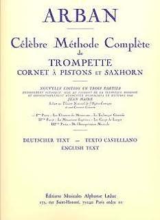 Método de Celebre 1–Arreglados para [trompeta/Alemán] Compositor: Arban Jean Baptiste