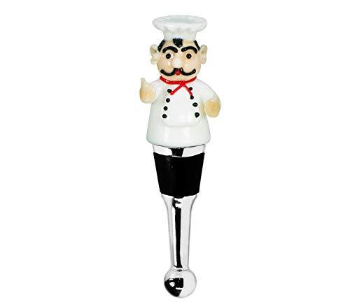 Edzard Tapón Gourmet para champán, Vino y Vino espumoso, técnica de Copa de Murano, Altura 12 cm, Hecho a Mano