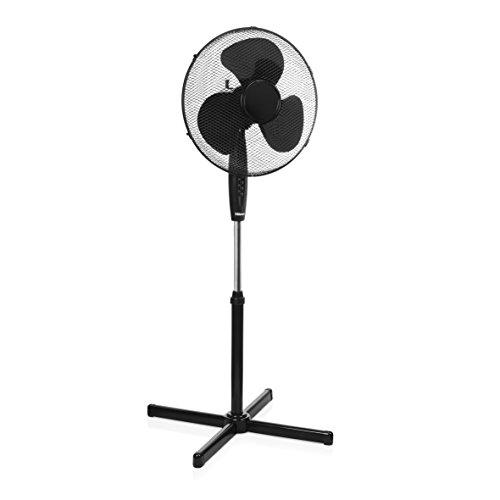 Tristar VE-5894 staande ventilator, in hoogte verstelbaar, 45 W, zwart, 105-125 cm/Ø 40 cm