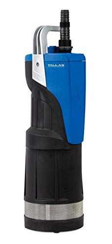 TALLAS D-ESUB 750 Tauchpumpe mit integrierter Elektronik, Ein-/Ausschaltautomatik, für sauberes Wasser, Wassertanks, Regenwasser, Gartenbewässerung, Haus- und Wohnbereich