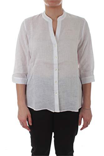 Persona by Marina Rinaldi Biga Camicia in lino da Donna Bianco Ottico,11121500