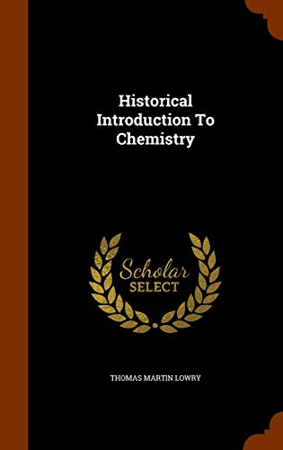 Historical Introduction to Chemistry
