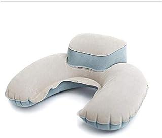 SIZOO - Cushion - Hot Sale 4 Colors Portable Travel Pillow Inflatable Neck Pillow U Shape Blow Up Comfortable Neck Cushion...
