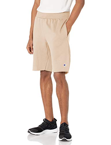 Champion Life Men's Reverse Weave Cut Off Short, Country Walnut, Small ✅