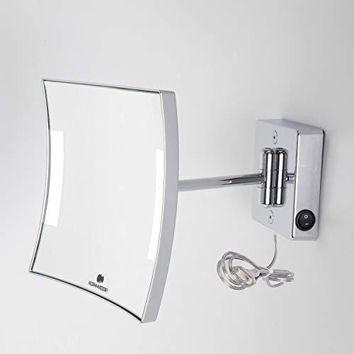 KOH-I-NOOR C60/1KK3Espejo Aumento X3Quadrolo LED