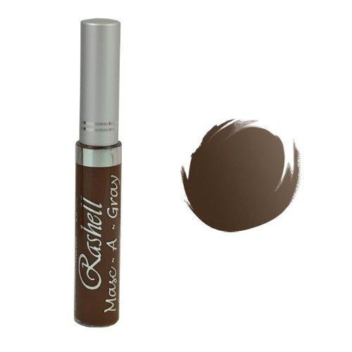 (6 Pack) RASHELL Masc-A-Gray Hair Color Mascara - Coffee