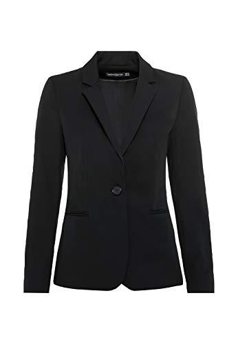 HALLHUBER Business-Blazer mit Paspeltaschen leicht tailliert schwarz, 36