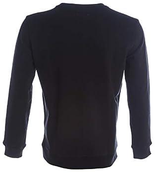 BOSS Hommes Weevo 2 Sweat Relaxed Fit en Molleton à Logo Contrastant