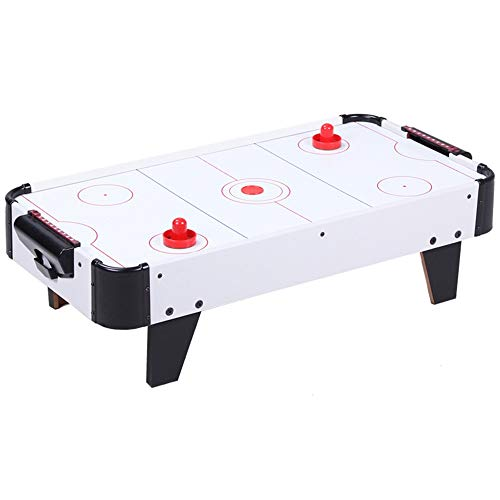 EDED LED Light-Up 31 inch Air Hockey Table Includes 2 LED Hockey Pushers and Puck