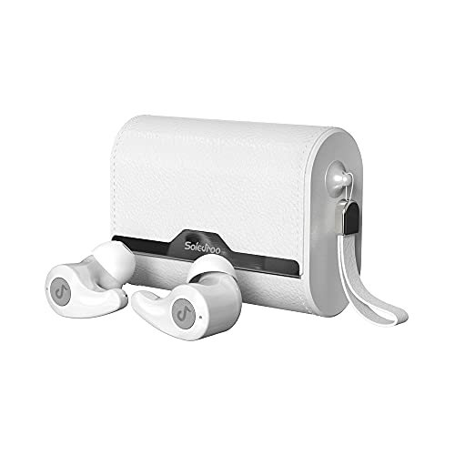 31pKJ576uwS. SL500  - Upgraded 2019 True Wireless Bluetooth Earbuds - 24 Hours Playtime Quality Stereo Sound - Latest 5.0 Strong Connection, Memory-Foam Earmuffs Headphones - Truly in-Ear Earphones, Built-in Microphone