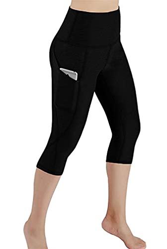 Davicher Leggins Mujer Push Up Pantalones Deporte Leggings de Elásticos Mallas Pantalones Deportivos 3/4...