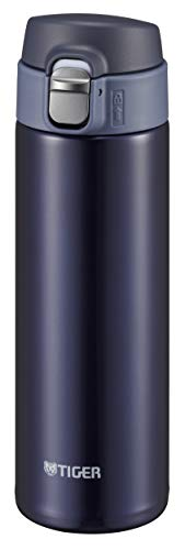 Tiger Corporation Stainless Steel Vacuum Insulated bottle Sahara 480ml Navy MMJ-A482-AJ