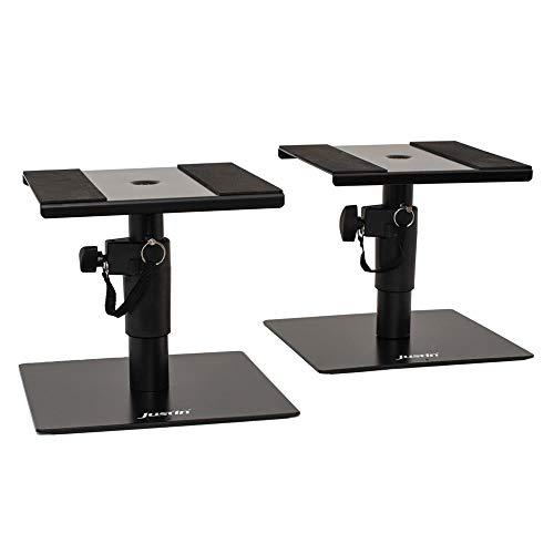Justin SPS Desktop Monitor Stand Desktop Lautsprecherstativ Paarpreis
