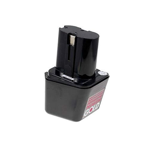 Akku für Bosch Typ 2607300001 NiMH Knolle, 7,2V, NiMH