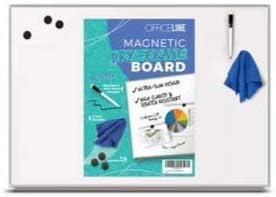 wholesale 2 x Officeline Magnetic Dry Erase popular outlet sale Board Bundle online