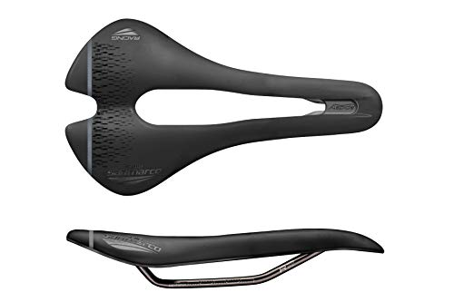 selle san marco SILLIN ASPIDE Short Open Racing Wide Bicicleta, Deportes y Aire Libre, Black, 155x250 mm