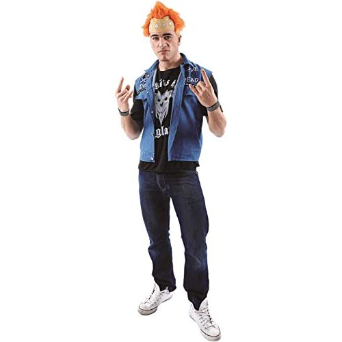 Mens Vyvyan Basterd The Young Ones 80s TV Punk Fancy Dress Costume 4fa92587a