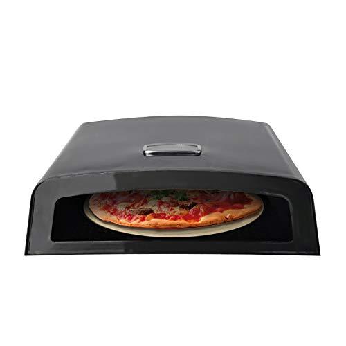 Tepro Box Scatola per Pizza, Nero