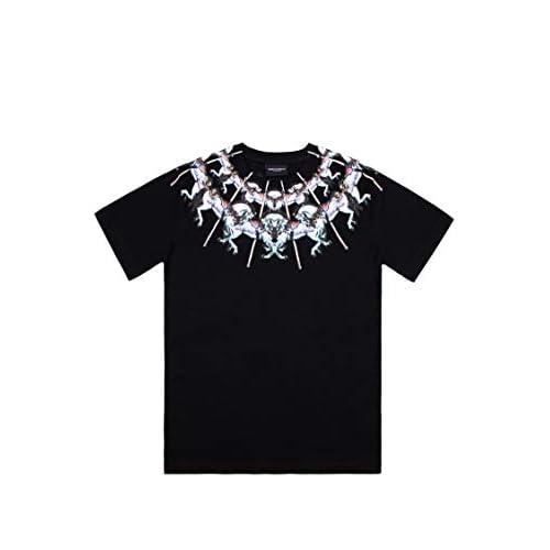MARCELO BURLON Luxury Fashion Ragazzo 11130010B010 Nero Cotone T-Shirt | Autunno-Inverno 20
