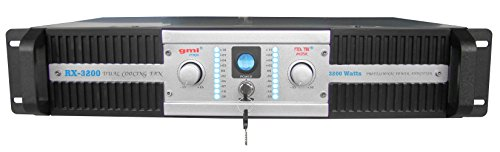 Lowest Price! Professional DJ Power Amplifier - 3200 Watts, 2 Channels, Dual Cooling Speed Fans - Re...