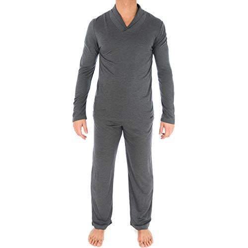 IMPETUS Herren Schlafanzug Gr. XX-Large, grau