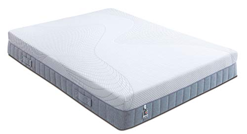 Breasley UNO Memory Pocket 1000 Mattress, Quilted, Single (90 x 190 cm)
