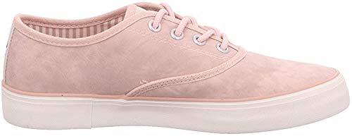 s.Oliver 5-5-23601-20 Modischer Damen Freizeitschuh, Sneaker, Schnürhalbschuh mit Weichem Soft Foam Fußbett (42 EU, Rosa)