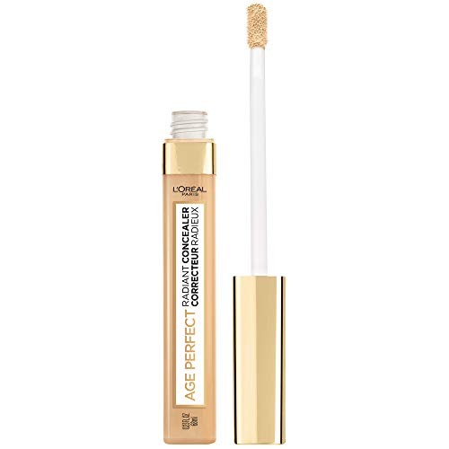 L'Oreal Paris Age Perfect Radiant Concealer with Hydrating Serum and Glycerin, Cream Beige