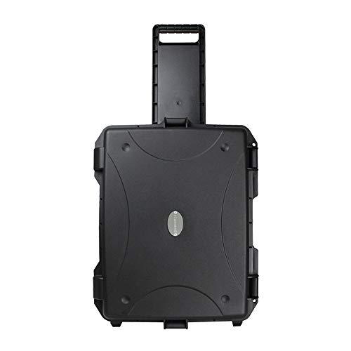 eLumen8 Rock Box 14 Utility Trolley Case Flightcase ABS Touring Band DJ Heavy Duty