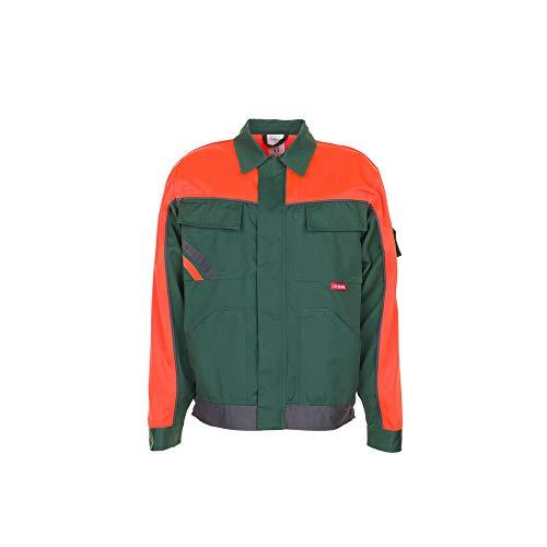 Größe 66 Herren Planam Visline V1 Bundjacke grün orange schiefer Modell 2412