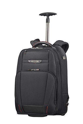 "SAMSONITE Pro-DLX 5 - Wheeled Backpack for 17.3"" Laptop 2.6 KG Mochila Tipo Casual, 48 cm, 28 Liters, Negro (Black)"