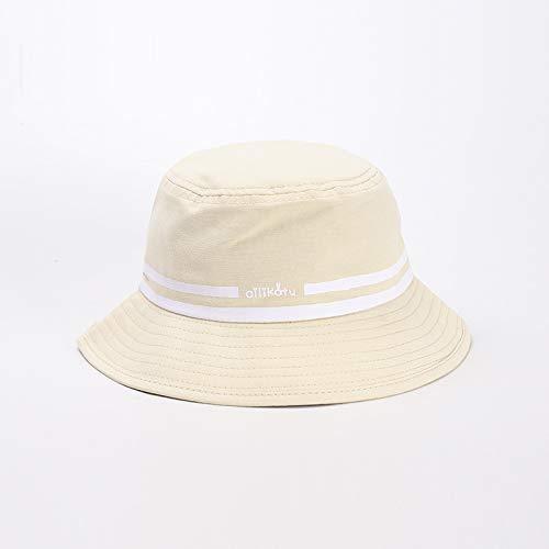 Sombrero para niños Nuevo algodón versión Coreana del Sombrero de Pescador de bebé de Doble Raya Gorra de béisbol para niños y niñas de Tendencia Simple