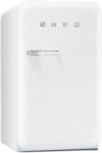 Réfrigérateur 1 porte Smeg FAB10HRB - Réfrigérateur 1 porte - 130 litres - Froid statique - Dégivrage automatique - Blanc - Classe A+ / Pose libre