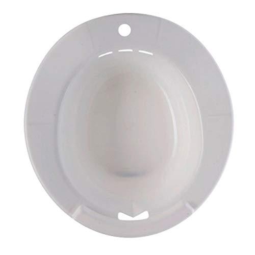 Hellery Sitzbad Bidet Sitzbadewanne Toiletteneinsatz aus Kunststoff Für Toilette - Weiß
