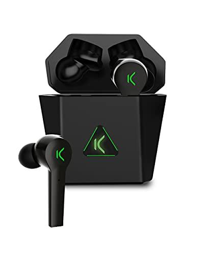 KSIX Saga Auriculares Inalámbricos Gaming con Bluetooth 5.0. Cascos sin Cable con...