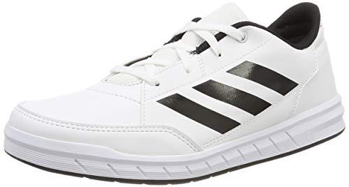adidas AltaSport K Zapatillas de Gimnasia Unisex Niños,  Blanco (Ftwr White/Core Black/Ftwr White Ftwr White/Core Black/Ftwr White),  37 1/3 EU