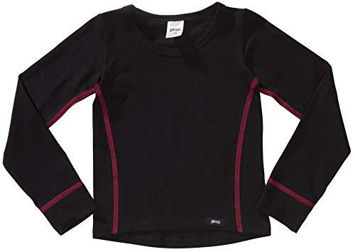 PLEAS Mädchen Thermo Shirt mit langem Arm, Thermounterhemd für Mädchen (104)