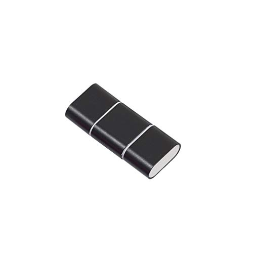 CandyTT 2 en 1 USB-C Tipo C 3.1 USB C HUB a Adaptador de Lector de Tarjetas SD para teléfono Android Lectura de Tarjetas de Alta Velocidad (Negro)