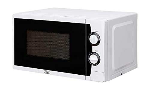 KHG Mikrowelle Weiß Kunststoff 44,0cm B x 25,85cm H