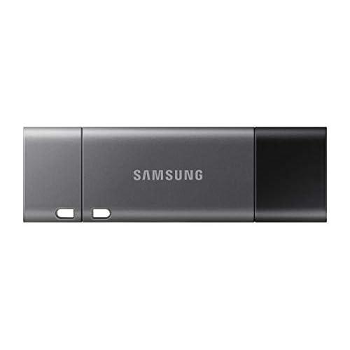 Samsung Memorie MUF-256DB Duo Plus USB Flash Drive, Type-C Fino a 300 MB/s, USB 3.1, 256 GB