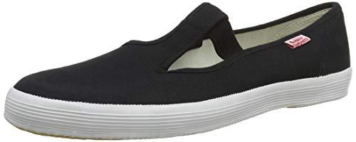 Beck Unisex-Erwachsene Basic Multisport Indoor Schuhe, Schwarz (Schwarz 02), 38 EU