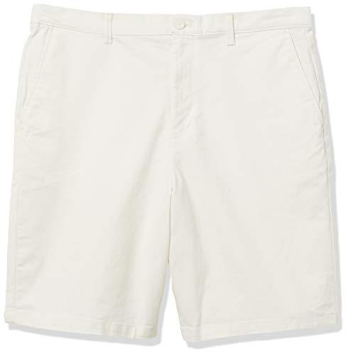Calvin Klein Men's Refined Chino Stretch Short, Cannoli Cream, 34