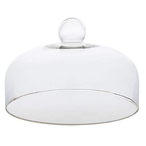 Yardwe Campana para tartas, campana para tartas, campana de cristal, para pastel,...