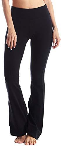 Viosi Wome 250gsm Fold Over Cotton Yoga Pants