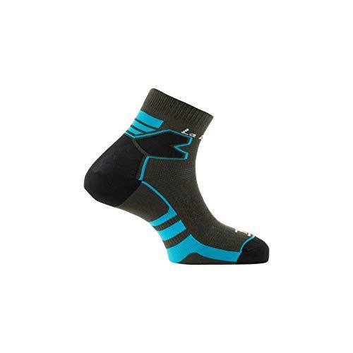 Thyo - Socquettes Double Trail - couleur - Gris bleu - Pointure - 41-42