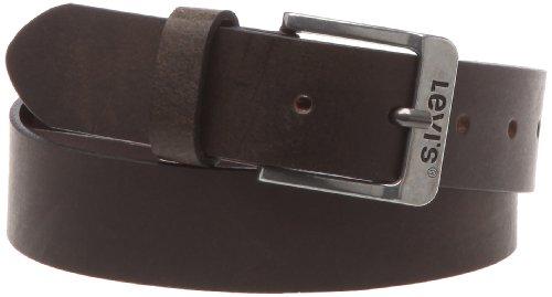 Levis Gürtel aus dunkelbraunem Leder gratis