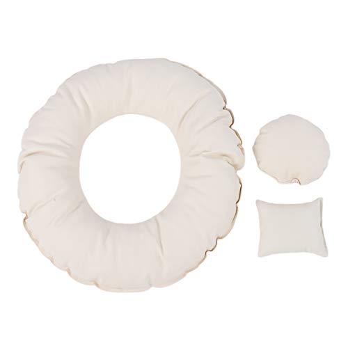 Almohada para bebé Photo Donut Prop Recién nacido Posando Sofá Accesorios para fotos navideñas para niño o niña